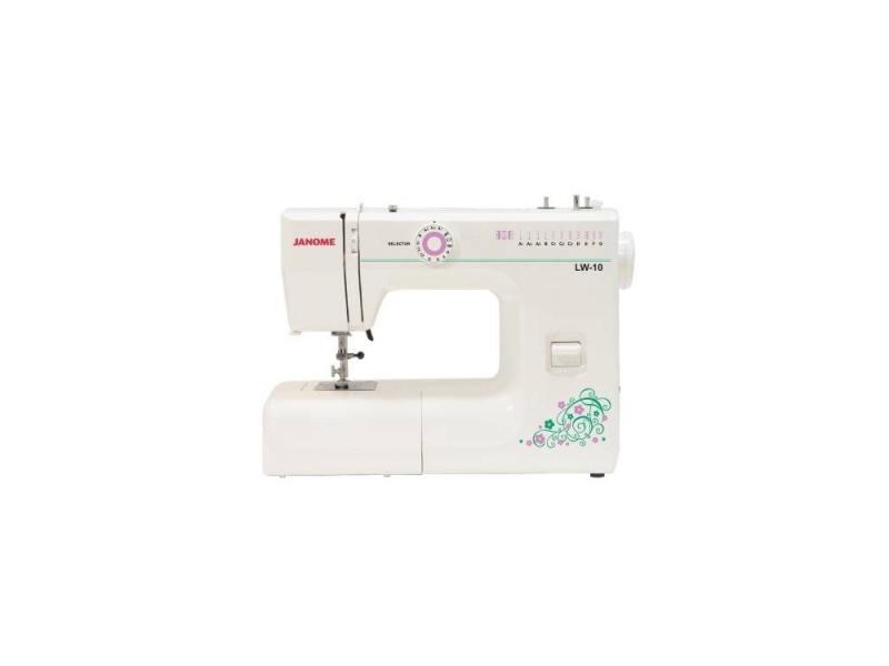 Швейная машина Janome LW-10 белый цены онлайн