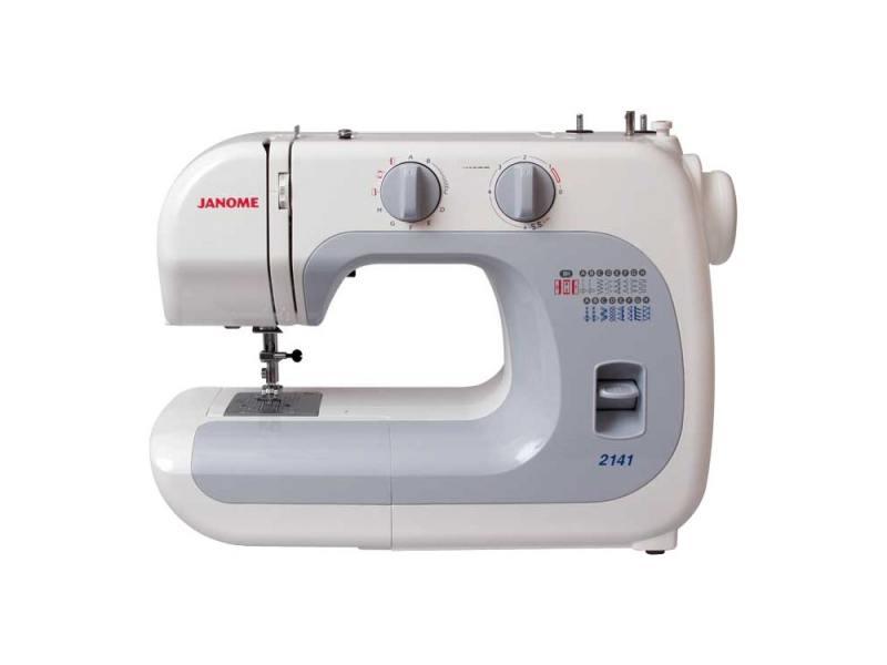Швейная машина Janome 2141 белый швейная машина janome dresscode белый
