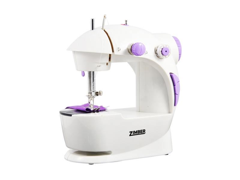 Швейная машина Zimber ZM-10920 бело-фиолетовый