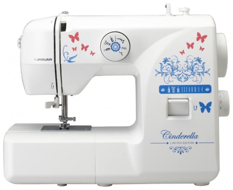 Швейная машина Jaguar Cinderella белый