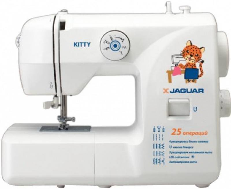Швейная машина Jaguar Katty белый/рисунок