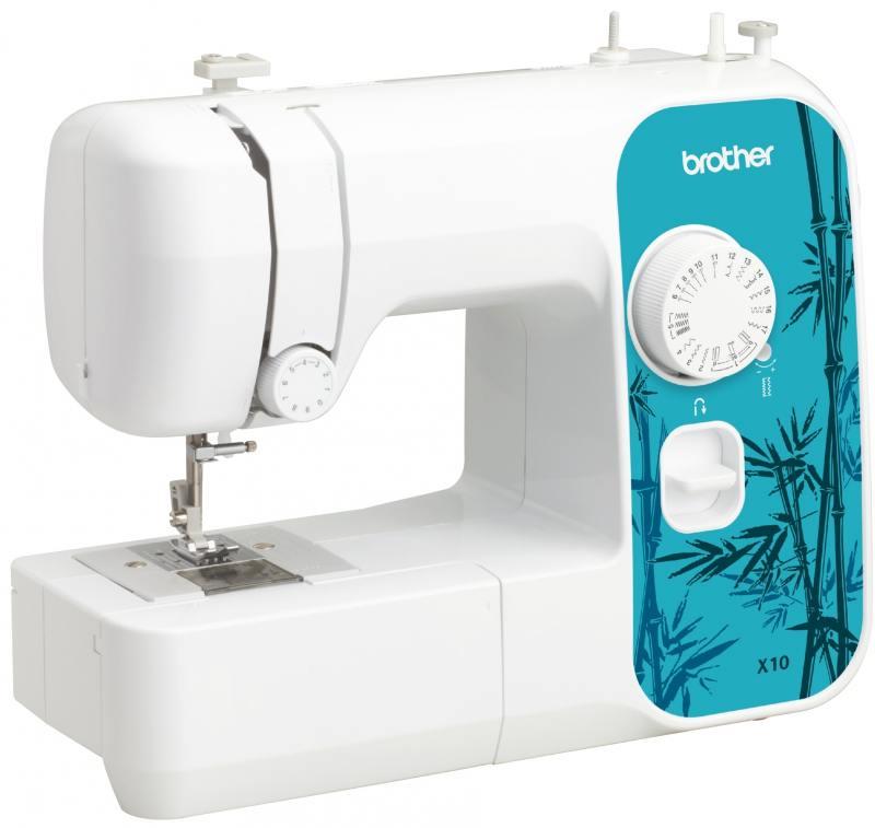 Швейная машина Brother X-10 белый швейная машина brother elite 45 белый
