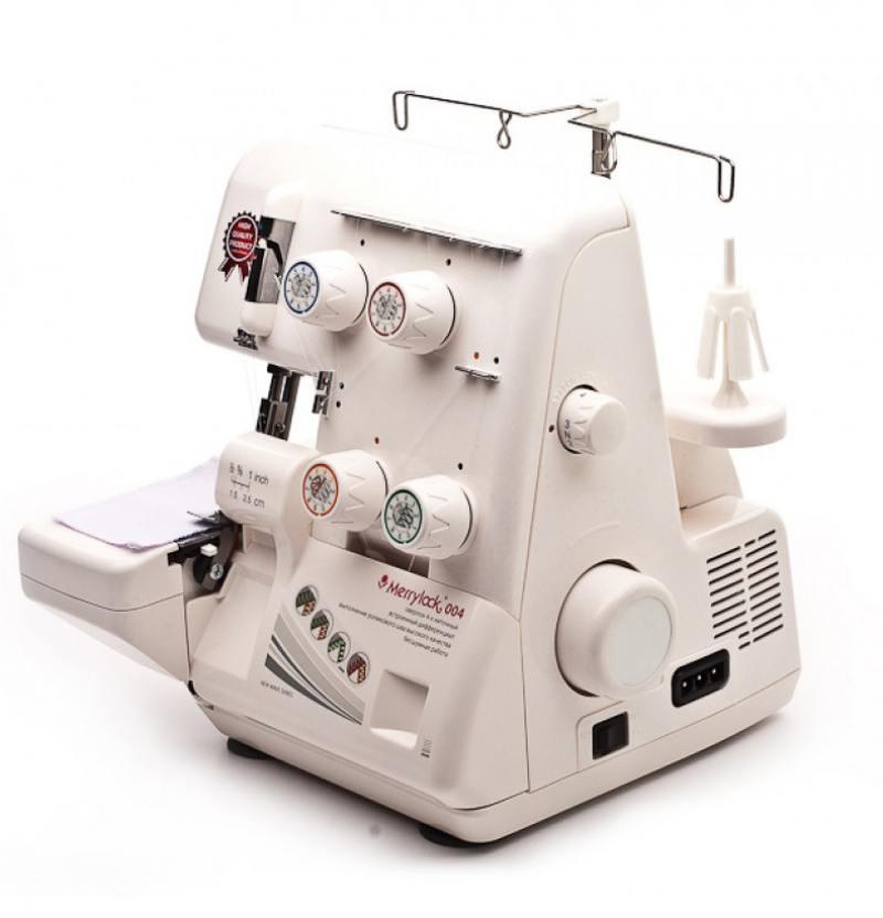 Оверлок Marrylock 004 белый швейная машина merrylock 004