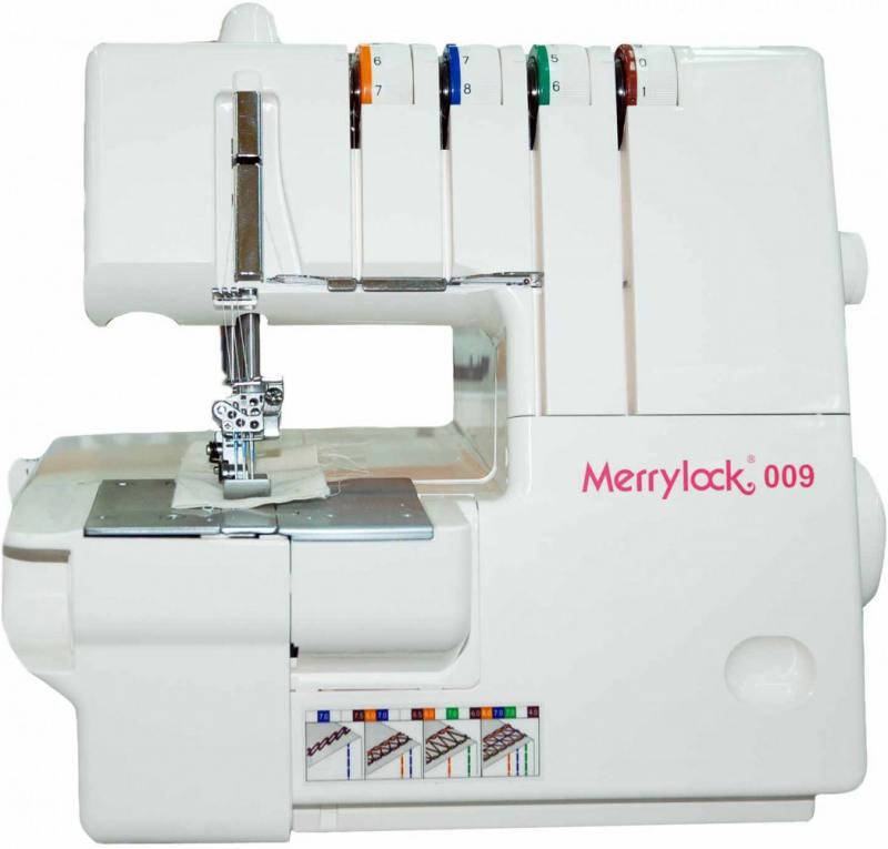 Оверлок Merrylock 009 белый стоимость
