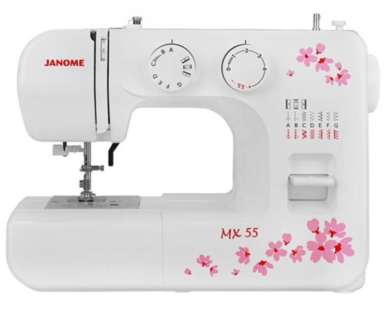 Швейная машина Janome MX 55 белый