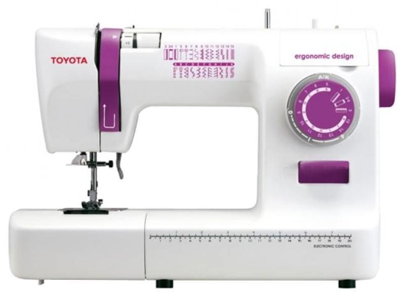Швейная машина Toyota ECO 26A бело-розовый