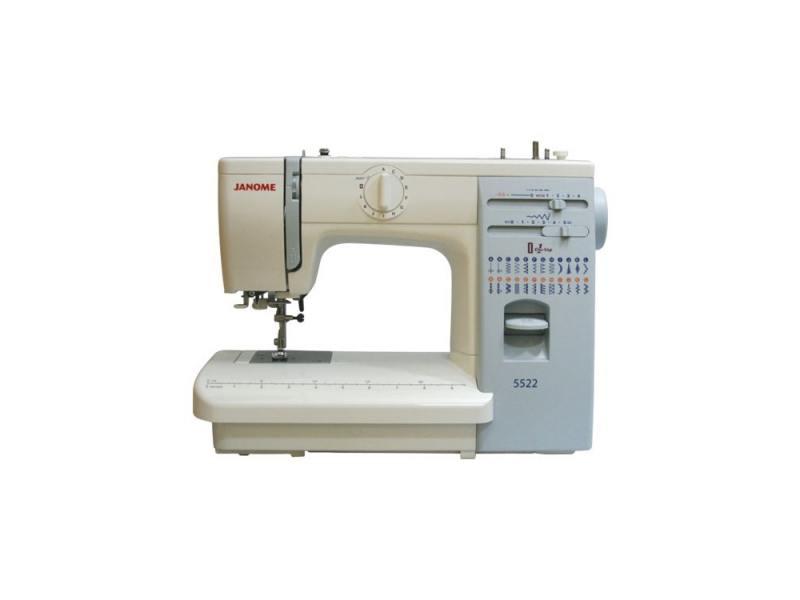 Швейная машина Janome 5522 белый швейная машина janome skyline s3
