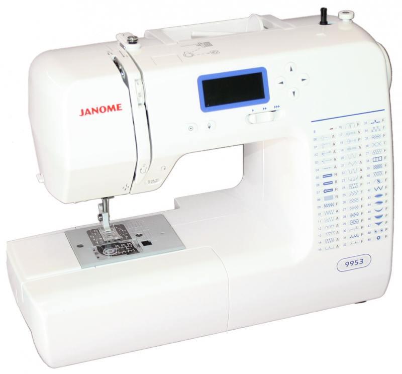 Швейная машина Janome 9953 белый швейная машина janome dresscode белый