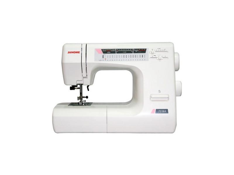 Швейная машина Janome 7518 A белый швейная машинка janome sew mini deluxe