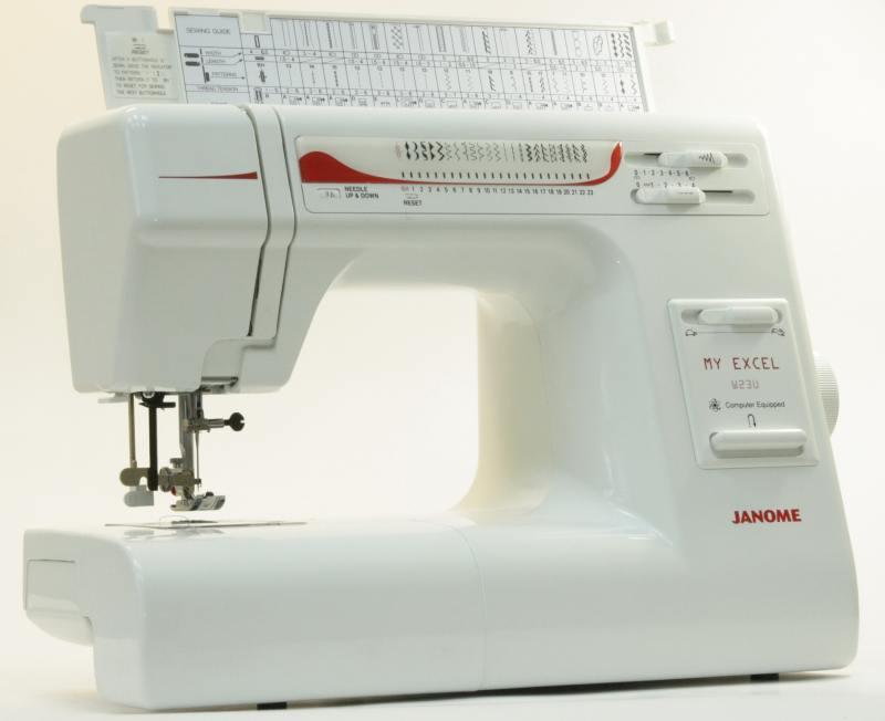 все цены на Швейная машина Janome W23U My Excel белый