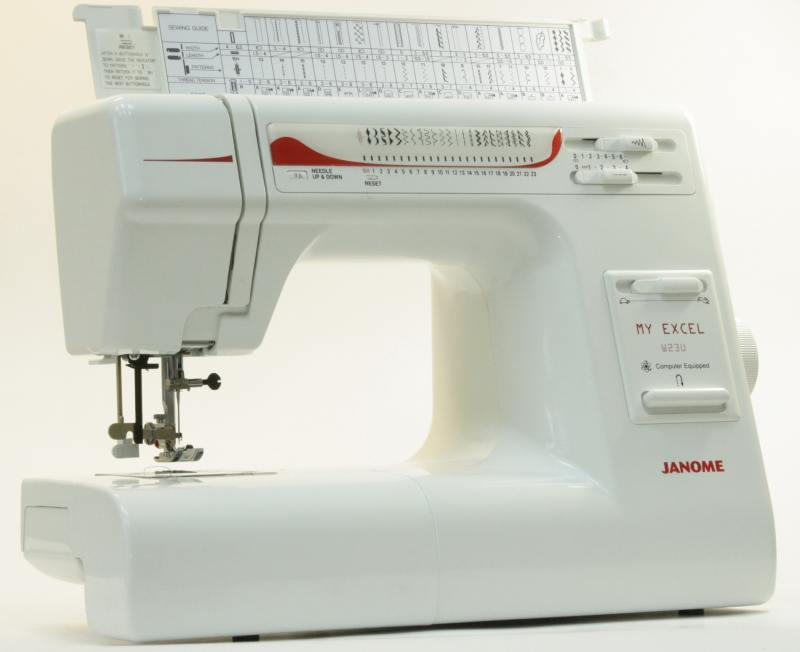 Швейная машина Janome W23U My Excel белый швейная машина janome 419s