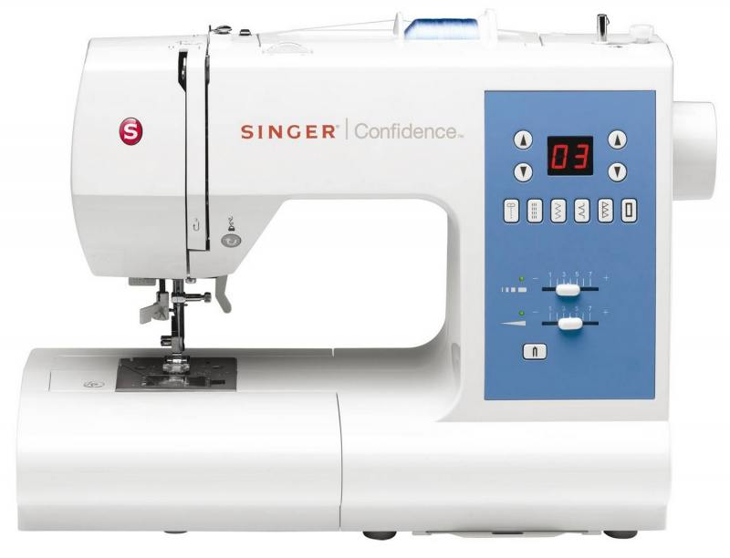 Швейная машина Singer Confidence 7465 белый швейная машина singer confidence 7470 белый