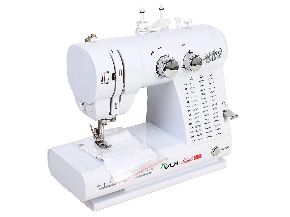 Швейная машина VLK Napoli 2700 электромеханическая швейная машина vlk napoli 2400