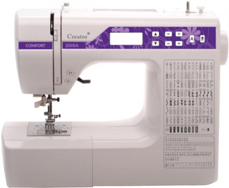 Швейная машина Comfort 200A белый mattress cover fiber comfort