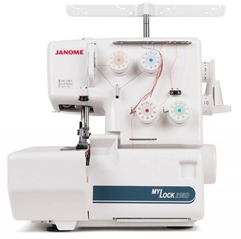 Оверлок Janome MyLock 204 D белый оверлок janome artstyle 4057 белый