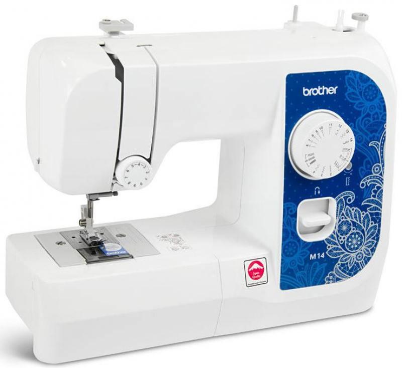 Швейная машина Brother M14 белый швейная машина brother elite 45 белый