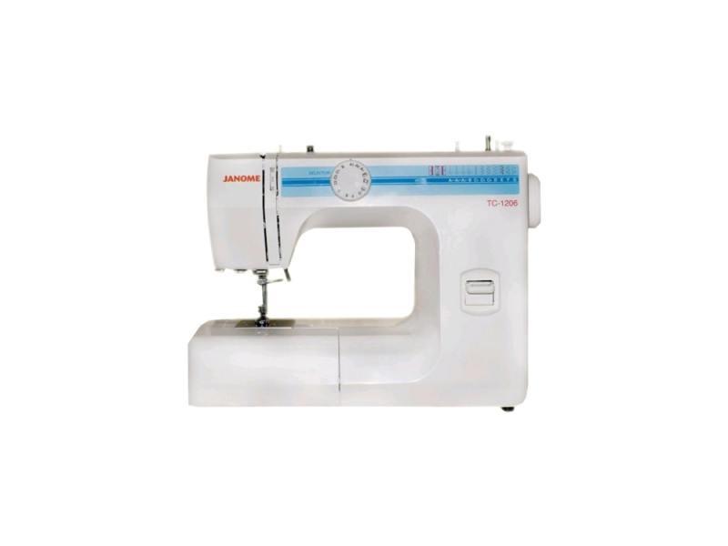 Швейная машина Janome TC 1206 белый швейная машинка janome sew mini deluxe