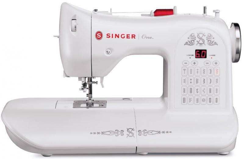 Швейная машина Singer One белый [супермаркет] джингдонг сингер singer швейная машина бытовая электрическая многофункциональная 5511