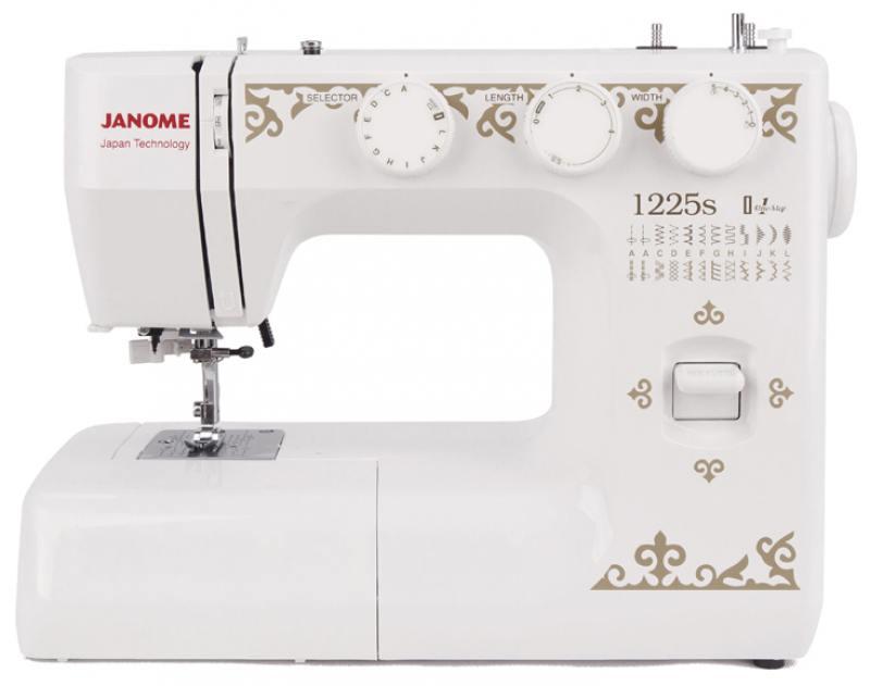 Швейная машина Janome 1225s белый цена 2017