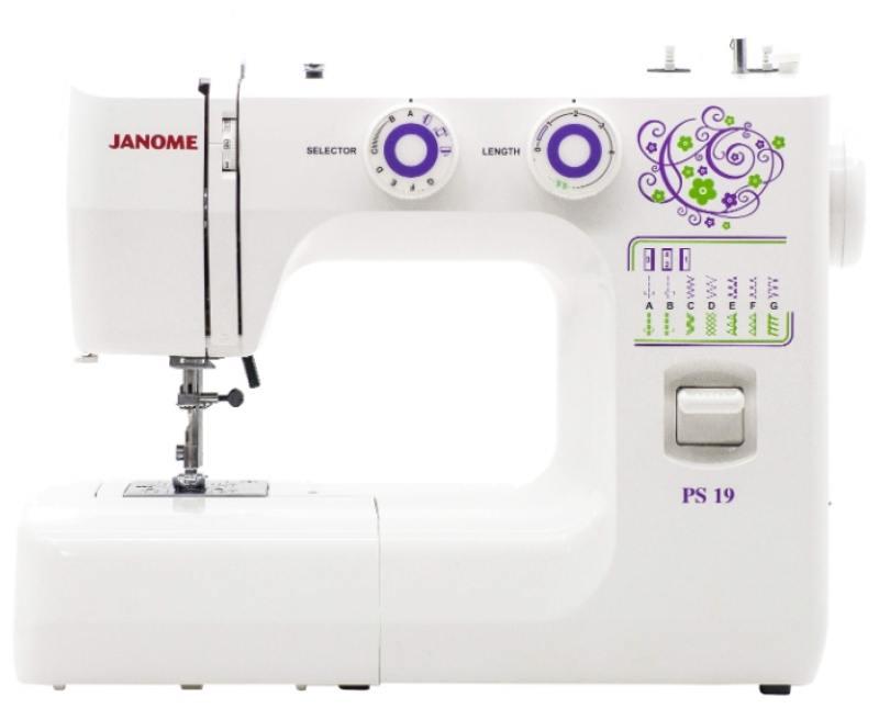 Швейная машина Janome PS-19 белый цена