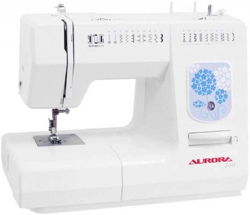 Швейная машина Aurora 760 белый электроплита gorenje ec 6341 xc