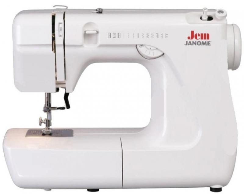 Швейная машина Janome Jem белый швейная машина janome dresscode белый