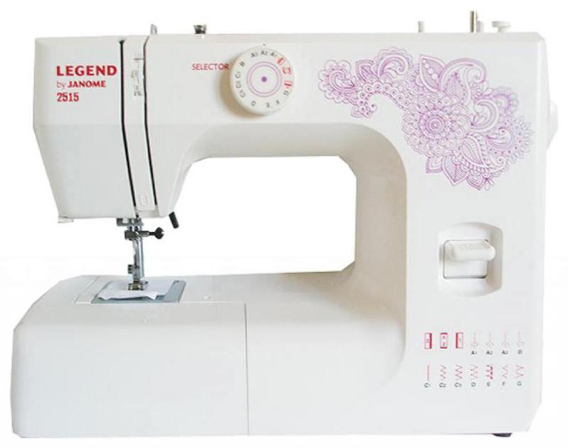 Швейная машина Janome 2515 белый adda ad7512hb 7530 dc12v 0 24a