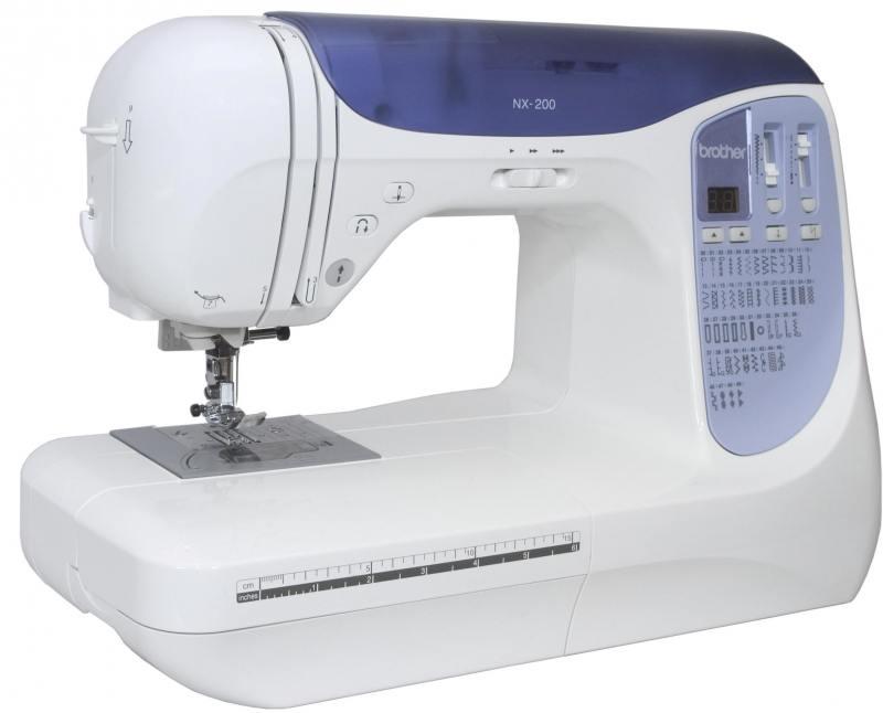 Швейная машина Brother NX-200 бело-синий