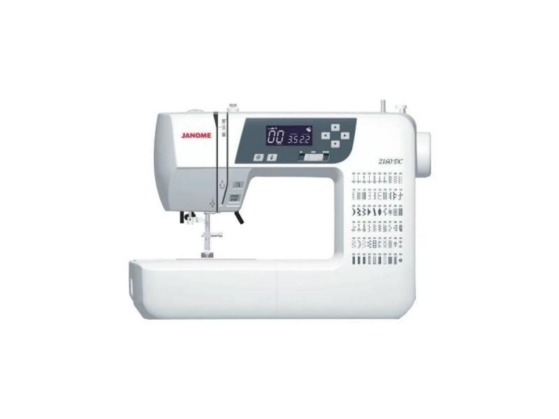 Швейная машина Janome 2160 DC белый цена