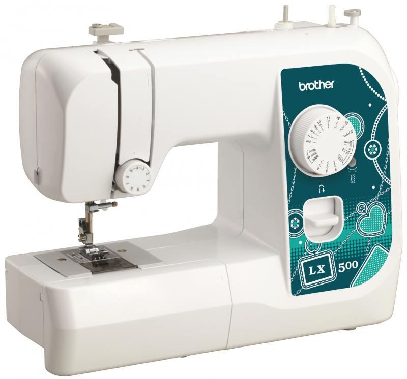 Швейная машина Brother LX500 белый швейная машина brother elite 45 белый
