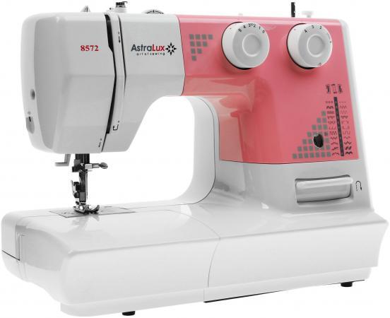 Швейная машина Astralux DC-8572 белый розовый швейная машинка astralux 307