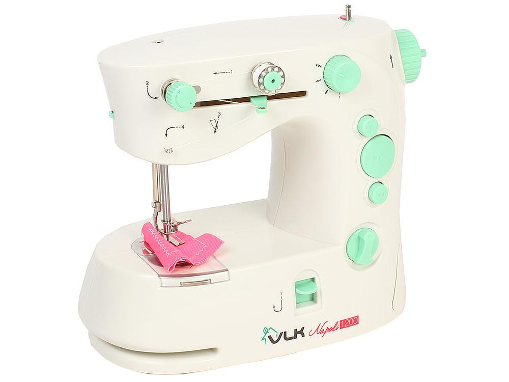Швейная машина VLK Napoli 1200, белый швейная машина vlk napoli 1200 белый