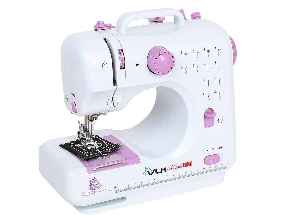 Швейная машина VLK Napoli 1400, белый швейная машина vlk napoli 2400
