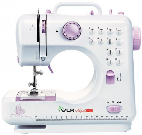 Швейная машина VLK Napoli 1400 белый швейная машина vlk napoli 1600 белый