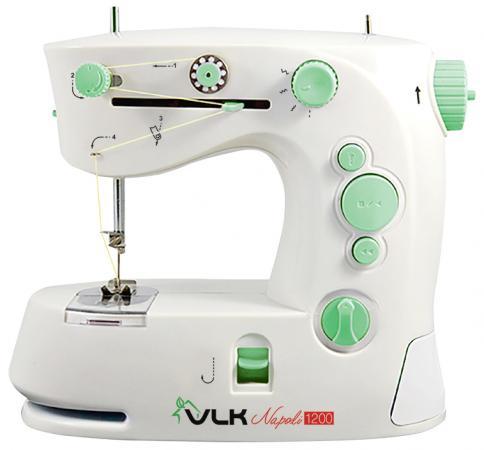 Швейная машина VLK Napoli 1200 белый швейная машина vlk napoli 1600 белый