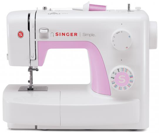 Швейная машина Singer Simple 3223 белый [супермаркет] джингдонг сингер singer швейная машина бытовая электрическая многофункциональная 5511