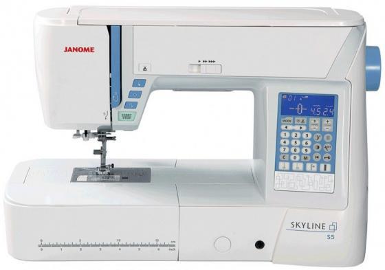 Швейная машинка Janome Skyline S5 белый цена