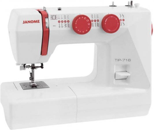 Швейная машинка Janome Tip 712 белый швейная машинка janome tip 716 белый