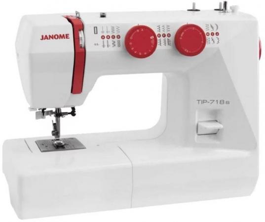 Швейная машинка Janome Tip 718s белый швейная машинка janome tip 716 белый