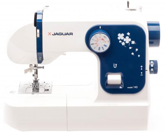Швейная машина Jaguar 143 белый синий швейная машина jaguar v 7 белый синий