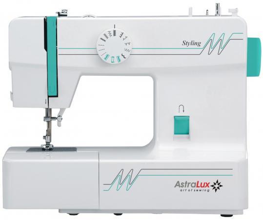 Швейная машина Astralux Styling белый/зеленый швейная машина astralux glory