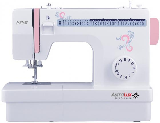Швейная машина Astralux Fantasy белый/розовый