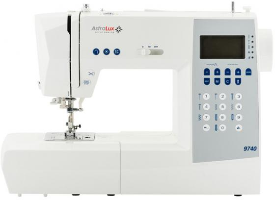 Швейная машина Astralux 9740 белый швейные машины astralux швейная машина astralux 7900