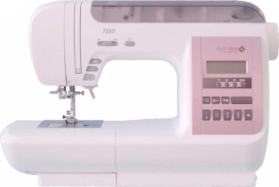 Швейная машина Astralux 7250 белый/розовый astralux dc 8373
