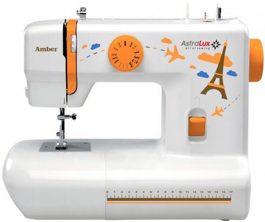 Швейная машина Astralux Amber белый/рисунок