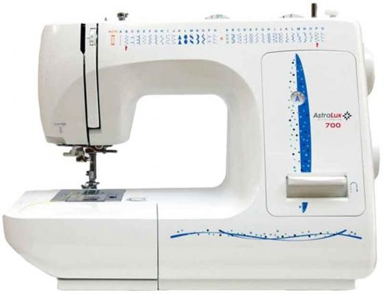 Швейная машина Astralux 700 белый/синий швейная машина astralux glory