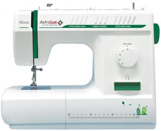 Швейная машина Astralux Moon белый/зеленый astralux dc 8373