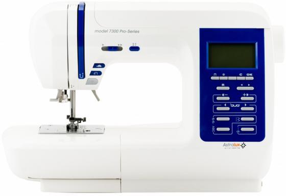Швейная машина Astralux 7300 Pro Series белый швейная машинка astralux 7300 pro series