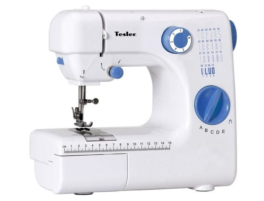 Швейная машина TESLER SM-2030 Кол-во строчек 20, полуавтомат все цены