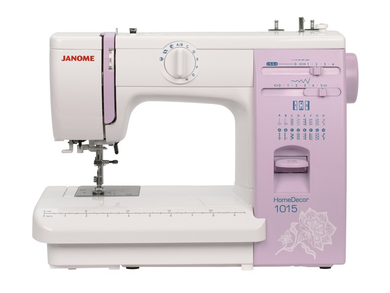 Швейная машина Janome HomeDecor 1015 [available from 10 11] janome sewing machine janome jk 220s